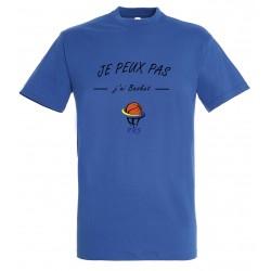 T-shirt je peux pas adulte